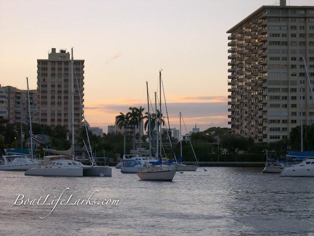 Las Olas Ft Lauderdale mooring field