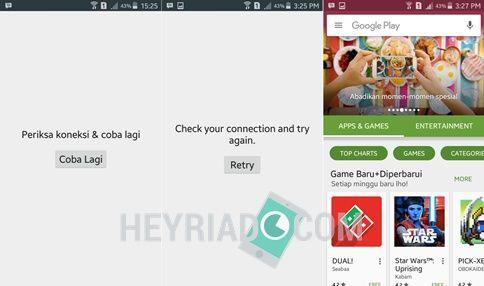 Salah satu kendala yang dihadapi pengguna smartphone Android ketika akan install perangkat lunak 6 Cara Mengatasi Play Store Tidak Ada Sambungan