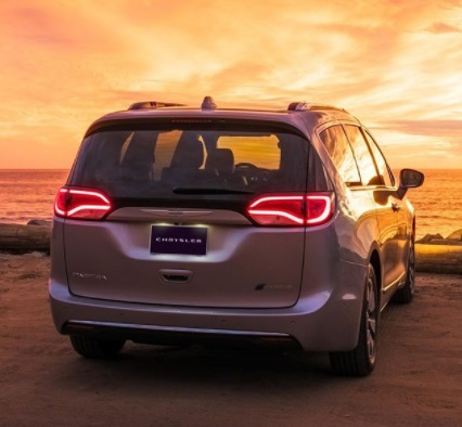 Design review Chrysler Pacifica