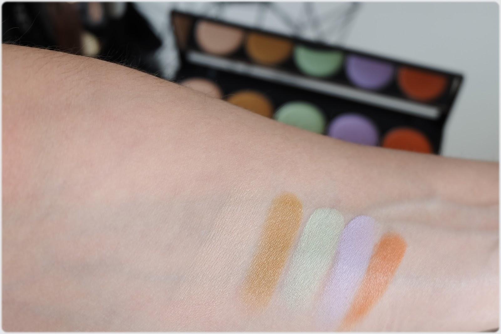 la palette correctrice 5 couleurs pb cosmetics - je veux tout tester