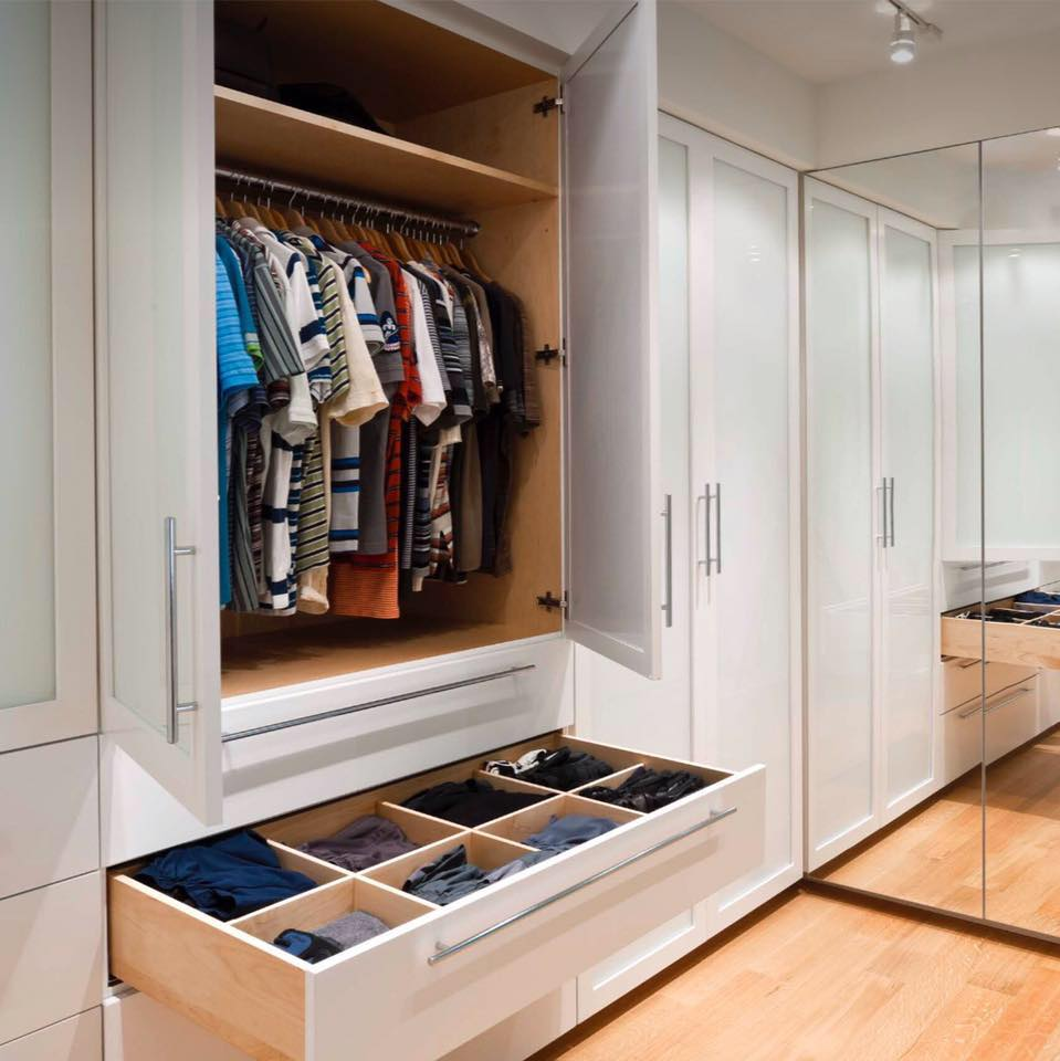 20 Incredible Closet Walk in Design Ideas