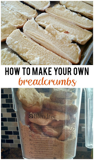 How to Make Your Own Breadcrumbs--an easy way to save money!