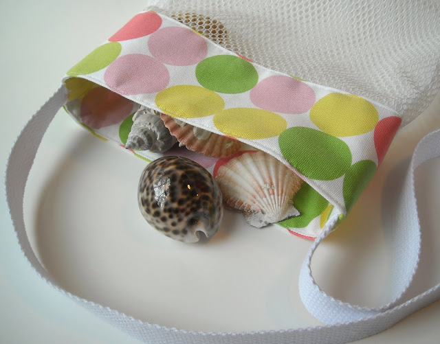 New Sea Shell Bags & Fun New Fabrics