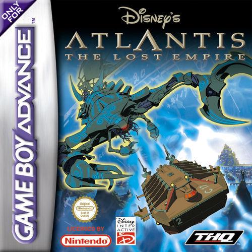 Atlantis: El imperio perdido GBA - Español - Portada