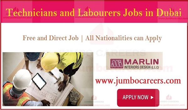 Available jobs in Dubai, Technical job vacancies in Gulf countries,
