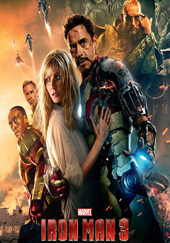 Iron Man 3 2013 Dual Audio Hindi Dubbed BluRay 720p 1GB | 480p 300MB Poster