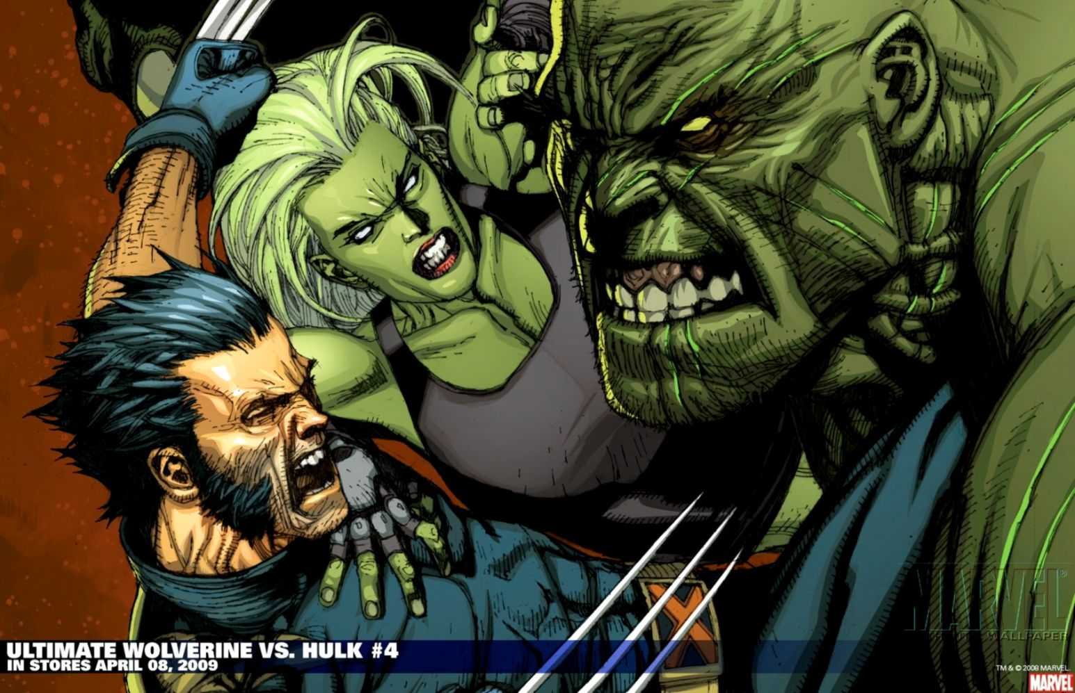 Hulk Vs Wolverine Hd Wallpaper Wallpapers Dope