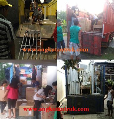 Angkutan Truk di Tangerang