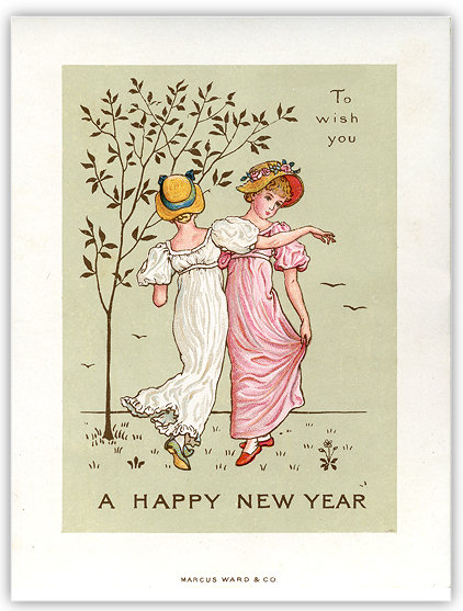 The Merry Dressmaker A Victorian New Years Wish