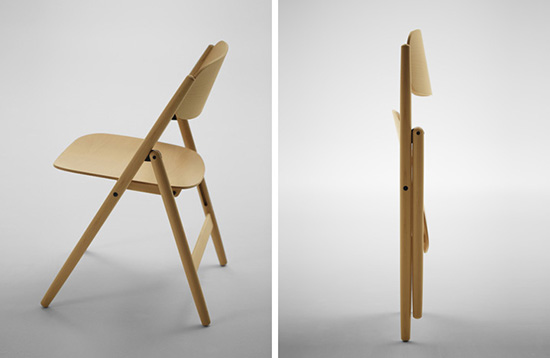 8 gambar ide desain inspiratif kursi lipat dari kayu
