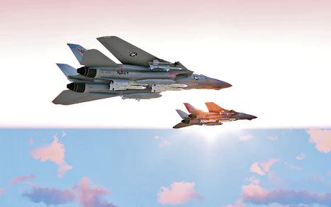 Arma3用F-14 Tomcat MODのVF-191 Satan's Kittens と VF-194 Red Lightnings