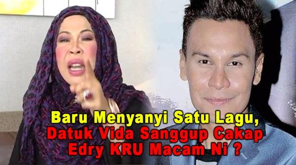 PANAS ! Kerana Lagu 'I AM ME' Datuk Vida Tak Puas Hati Dengan Edry, Sanggup Cakap Edry Macam Ni ?