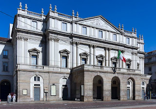 The Teatro alla Scala, where Crepax's father was a musician, has become of the world's premier opera houses