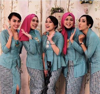 Model Baju Kebaya Muslim Untuk Anak Muda
