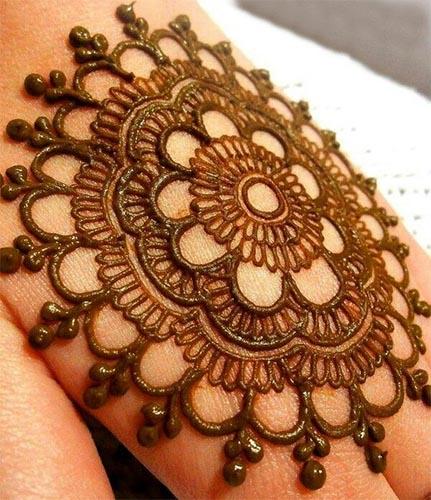 Modern Bridal Mehndi