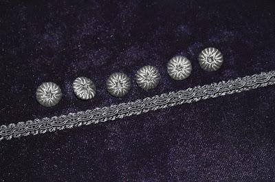 11th Doctor velvet waistcoat sewing kit
