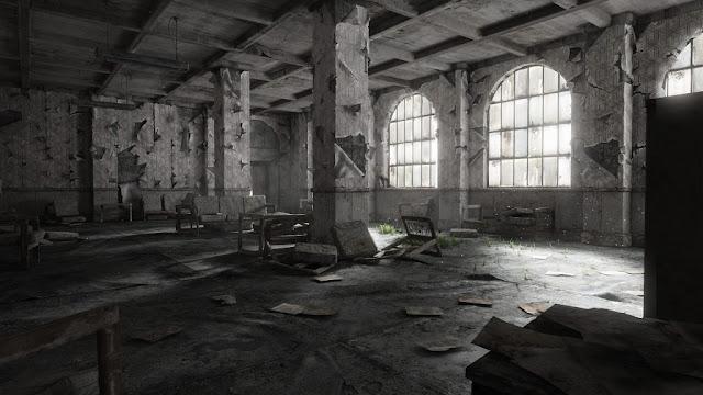 dilapidated and derelict building
