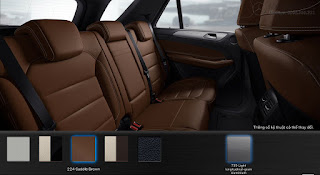Nội thất Mercedes GLE 400 4MATIC 2015 màu Nâu Saddle (224)