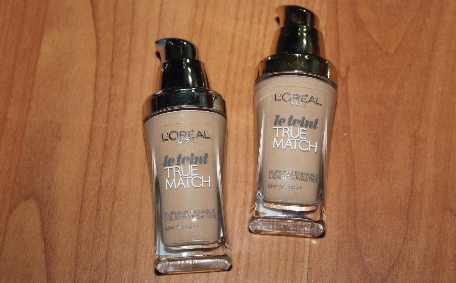 best foundation l'oreal paris true match swatch review