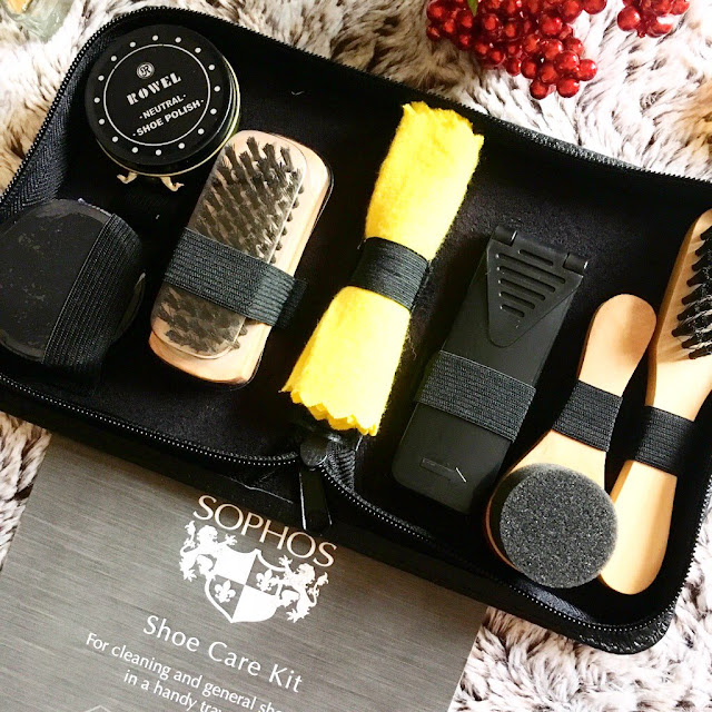Dobell Shoe Care Kit in case