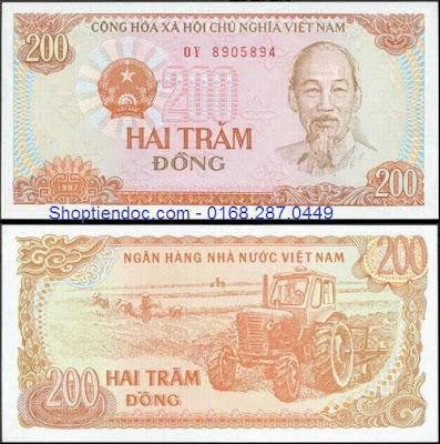 Tiền 200 đồng Việt Nam