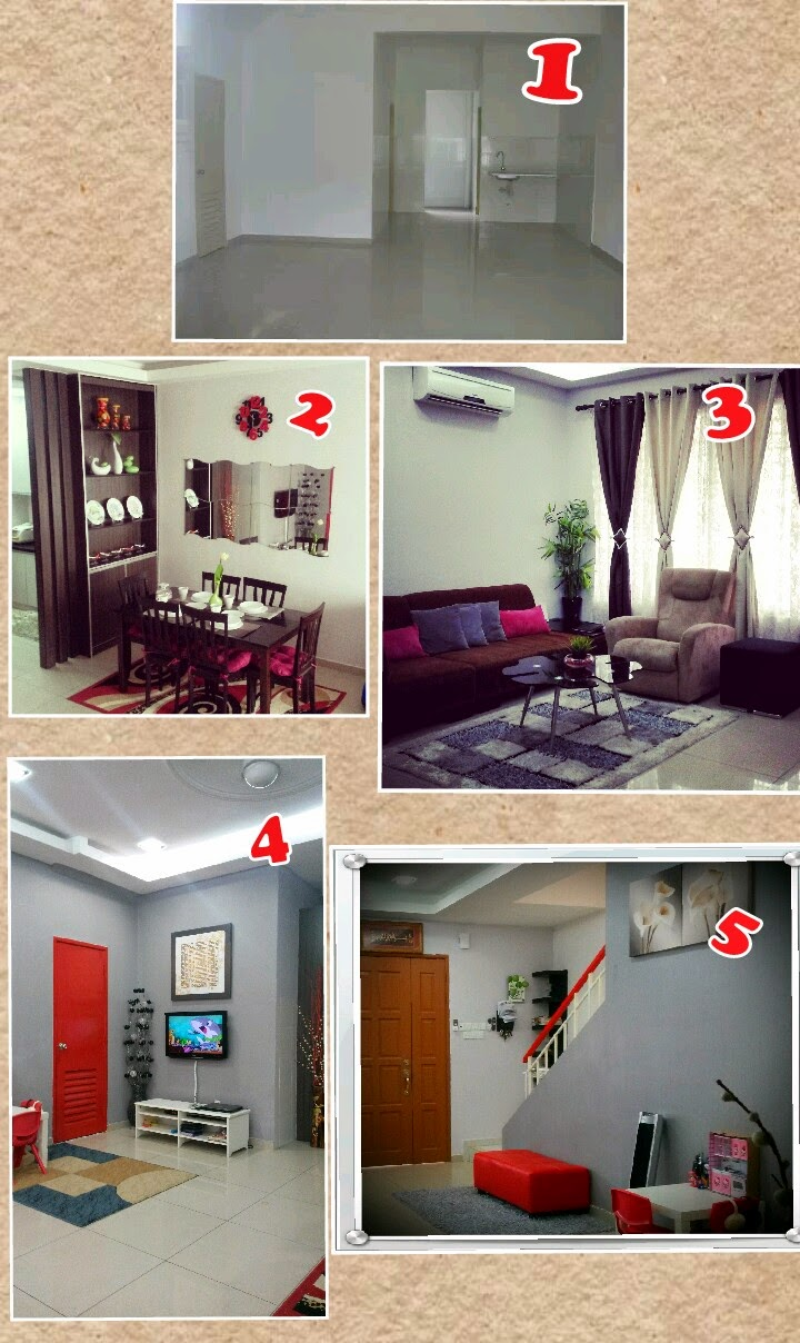 Gambar 1 Merupakan Keadaan Asal Rumah Saya Sebelum Sebarang Ubah Suai Dibuat Mmg Konsep Terbuka Terus Sbb Tu Tempah Divider Dan Display Cabinet Mcm