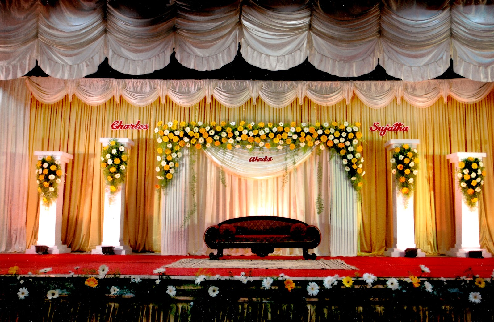Marriage wedding stage decorations background images of india studiopk wedding stage decoration junglespirit Gallery