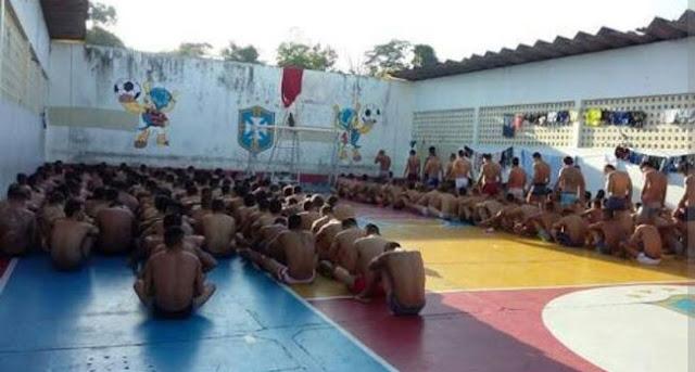 Manaus: 37 detentos ficam feridos em confronto com militares do Exército e Força Nacional durante revista em presídio
