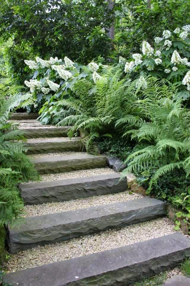 How To Build A Garden Stairs Design As A Decorative Element?