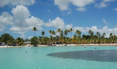 Plage du bourg de Sainte Anne - Grande Terre - Guadeloupe