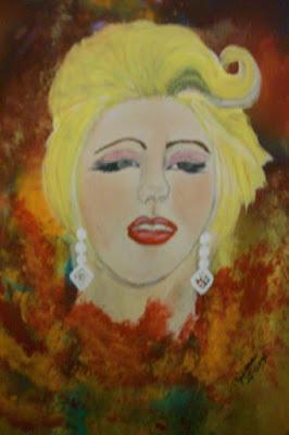She's So Unusual..Cyndi Lauper by Julieann St-Onge