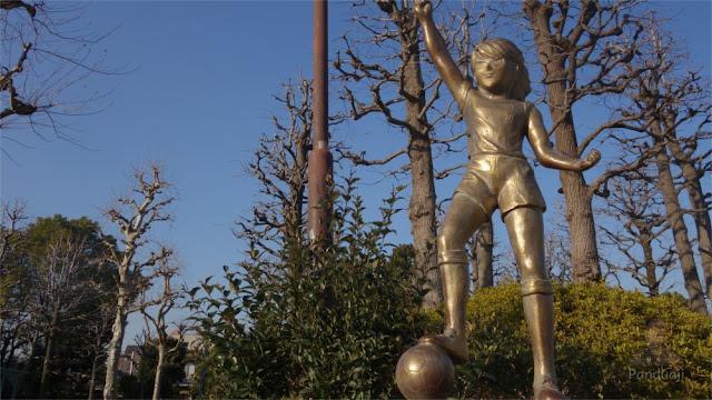Patung Kojiro Hyuga