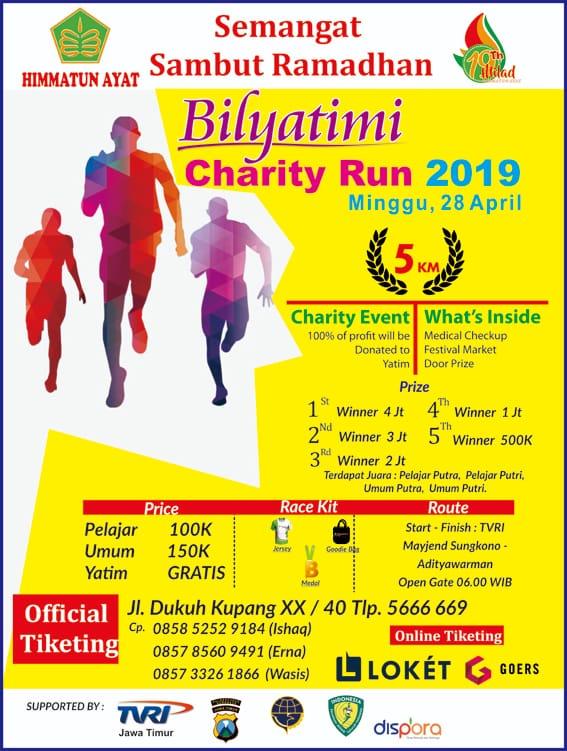 Bilyatimi Charity Run • 2019
