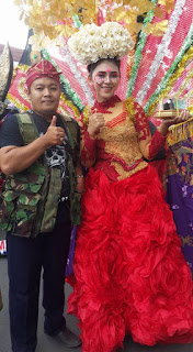 Suami ku di Acara Kirab Budaya dalam Rangka HUT Hari Ulang Tahun Kota Tasikmalaya