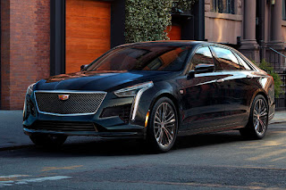 Cadillac CT6 V-Sport (2019) Front Side