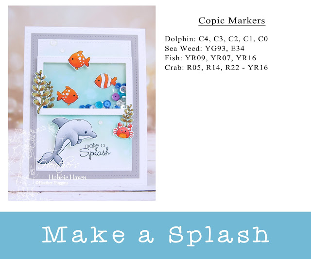 Heather's Hobbie Haven - Pixel Paper Crafts - Sea Animals - Make A Splash