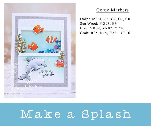 Heather's Hobbie Haven - Pixel Paper Crafts - Sea Animals - Make A Splash