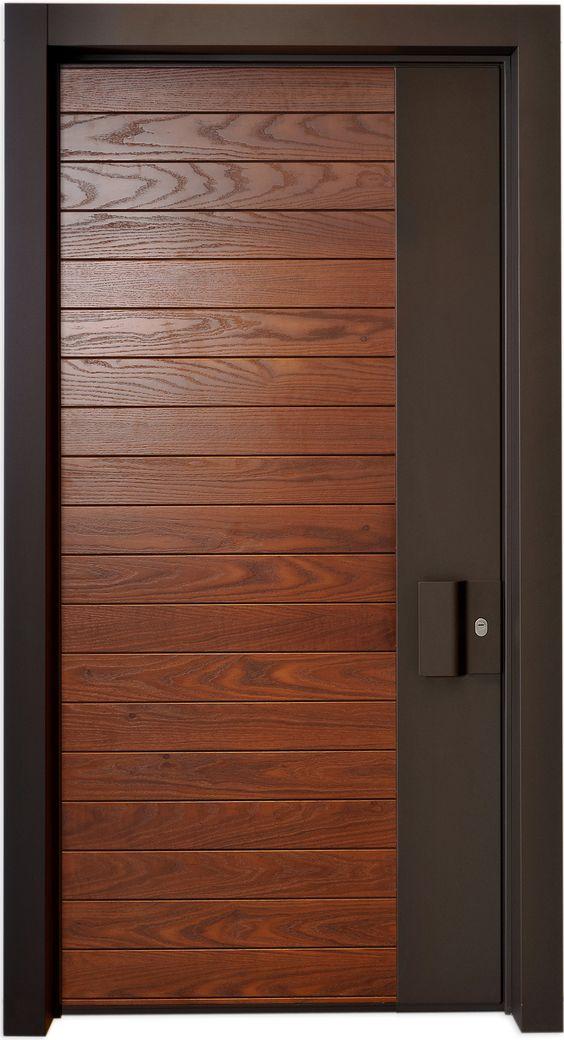 20 Modern Designs For Interior Wooden Doors - Decor Units