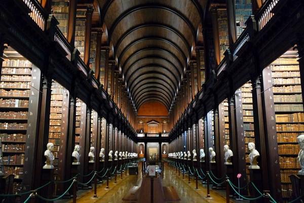 dublin trinity college bibliothèque