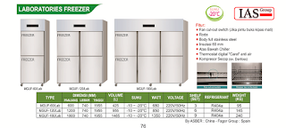 kulkas laboratorium freezer