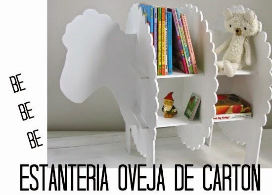 Como hacer una Estanteria-Oveja de Carton