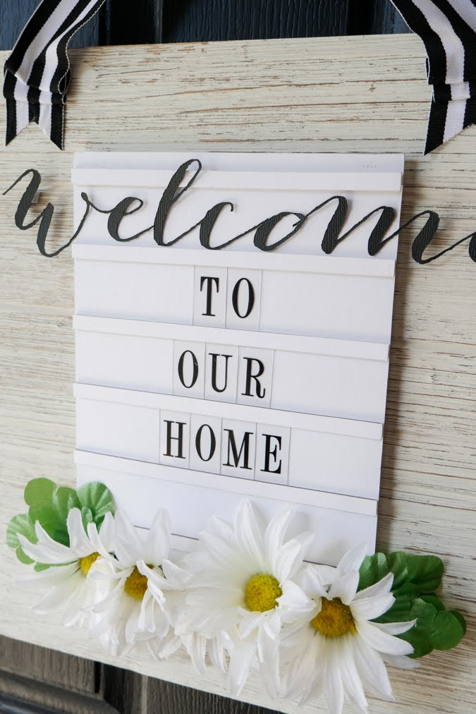 Heidi Swapp DIY Banner Sign by Jamie Pate |  @jamiepate for @heidiswapp