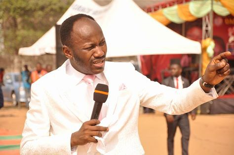 Apostle Johnson Suleman Looks Majestic In London Church (Photo)