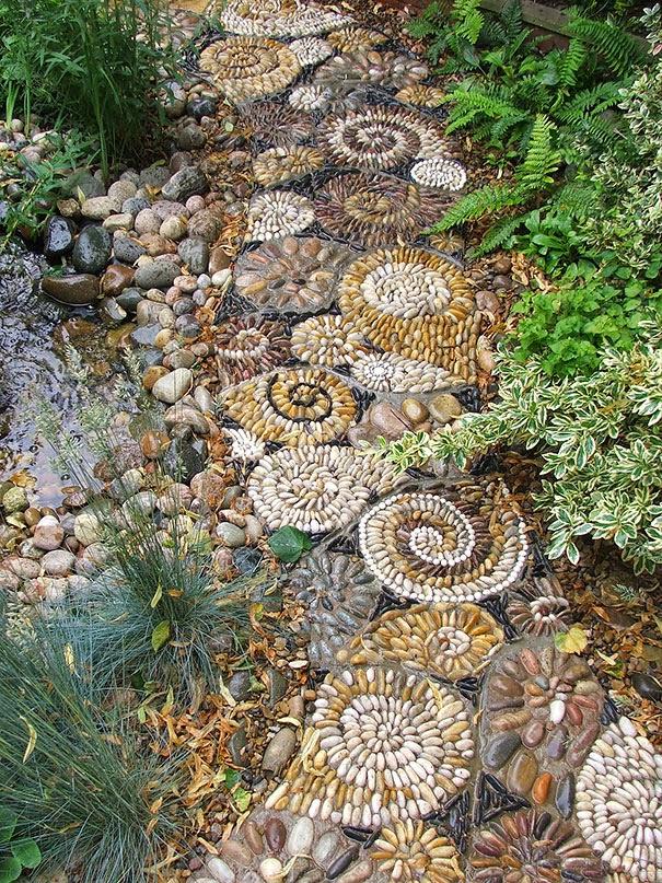 10 neobicnih,zadivljujucih staza u vrtu od šljunka