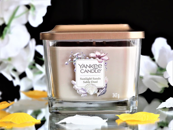 YANKEE CANDLE | SUNLIGHT SANDS - ELEVATION COLLECTION