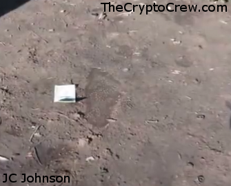 JC Johnson finds bigfoot tracks