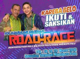 """Jadi Wakil Wali Kota, Piala """"Pasha Ungu"""" Bakal Jadi Rebutan di Road Race Palu"""