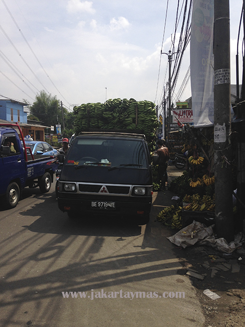 Calle en Yakarta