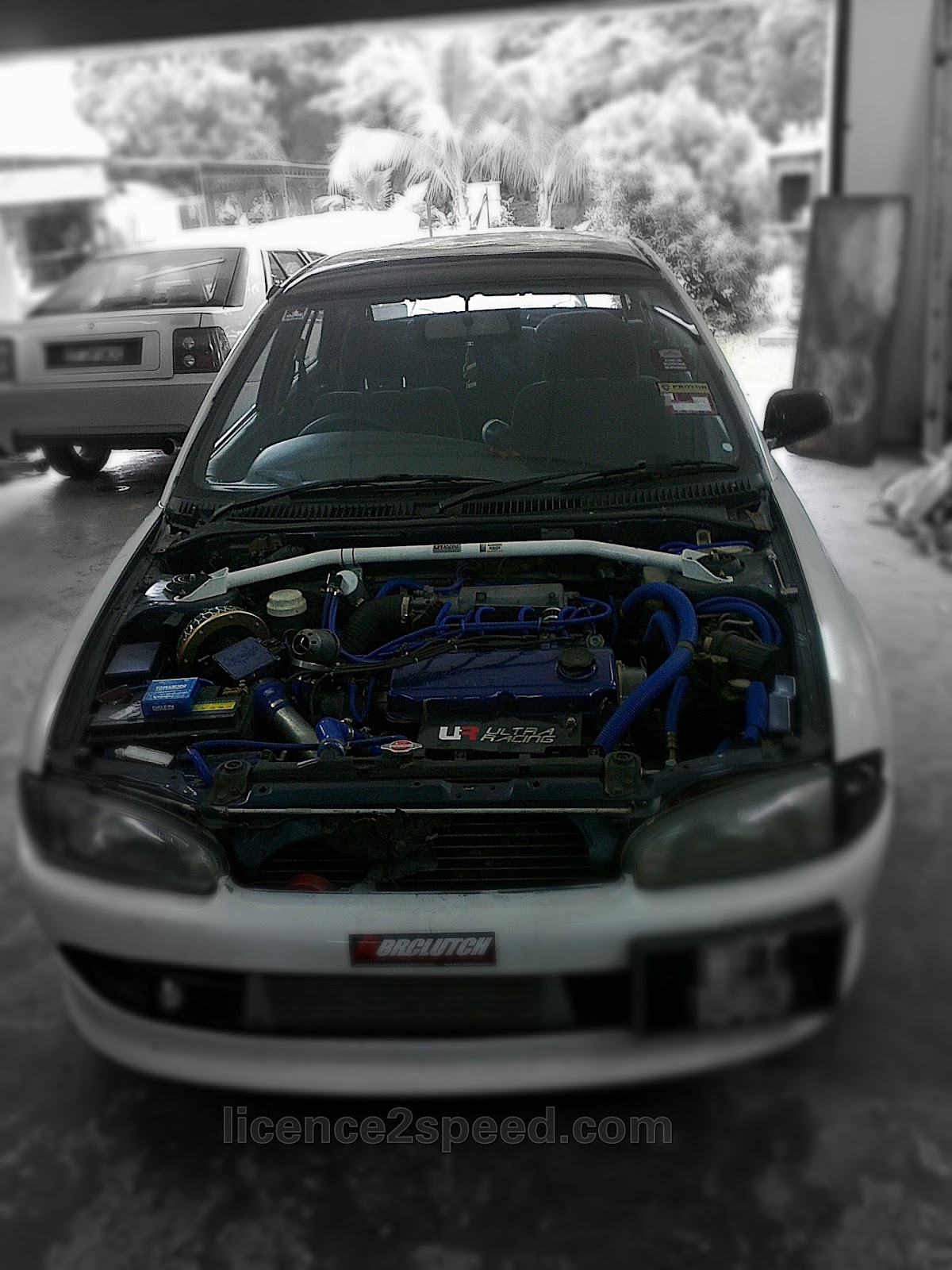 Licence To Speed For Malaysian Automotive My Project Car Budget Mitsubishi 4g92 Wiring Diagram Proton Wira 16 Bolt On Turbo