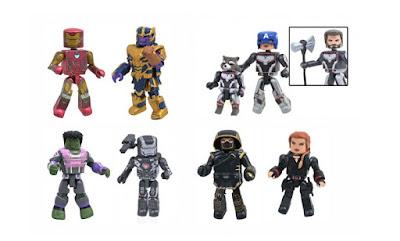 Walgreens Exclusive Avengers Endgame Marvel Minimates Series by Diamond Select Toys